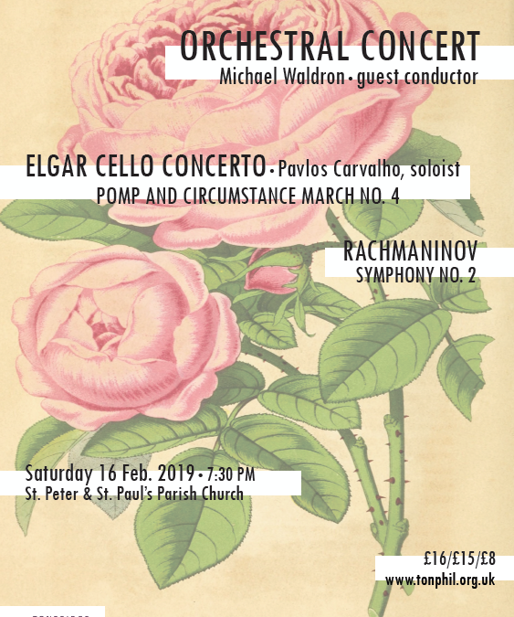 Review: Elgar Cello Concerto / Rachmaninov's 2nd Symphony